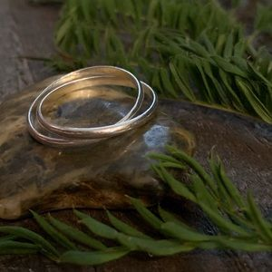 ✨ Silver rolling ring - Size 10